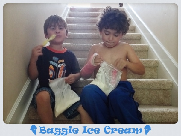 baggie ice cream