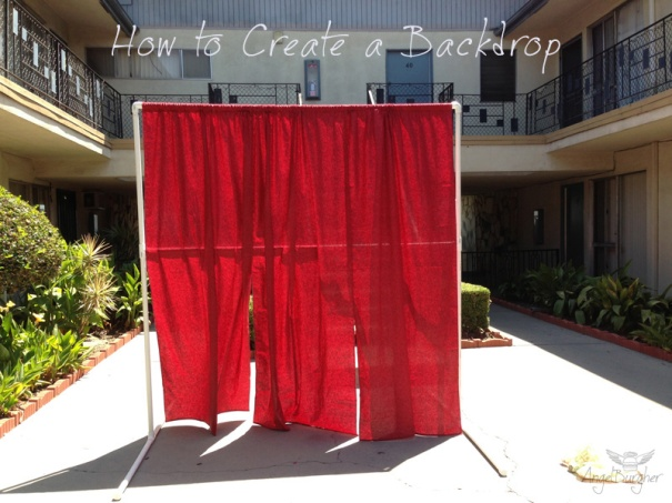 DIY-Backdrop